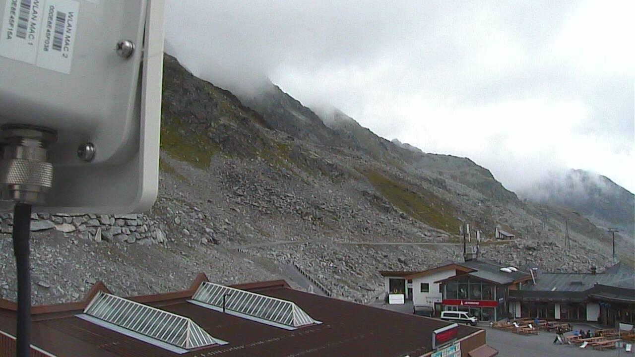 Webcam impianti ghiacciaio